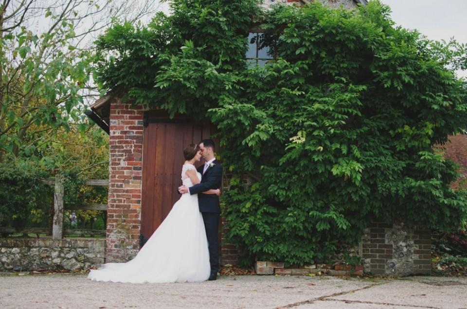 Joanna + Marc // Tithe Barn