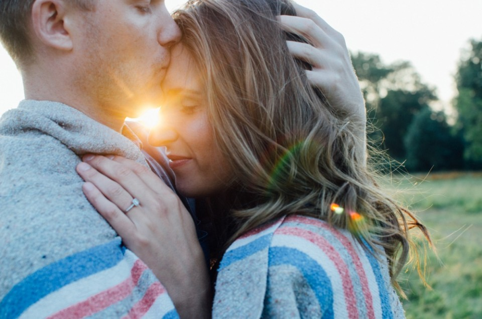 Gemma + Jay // Sunset Engagement