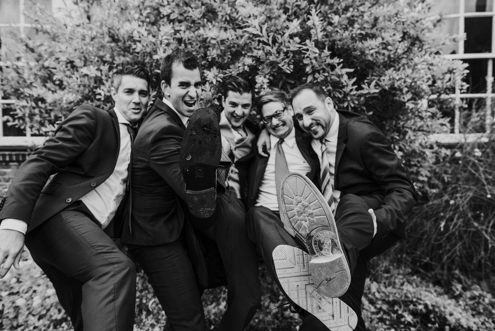 groom with best mates