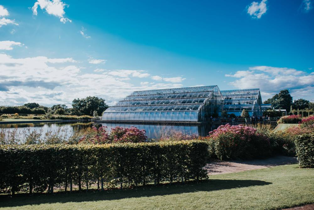 Stunning Wedding venue in Surrey, RHS Wisley glasshouse