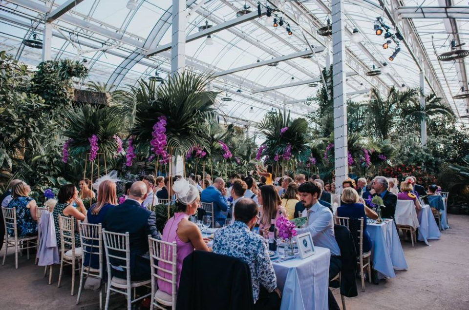 RHS Wisley Glass House Wedding