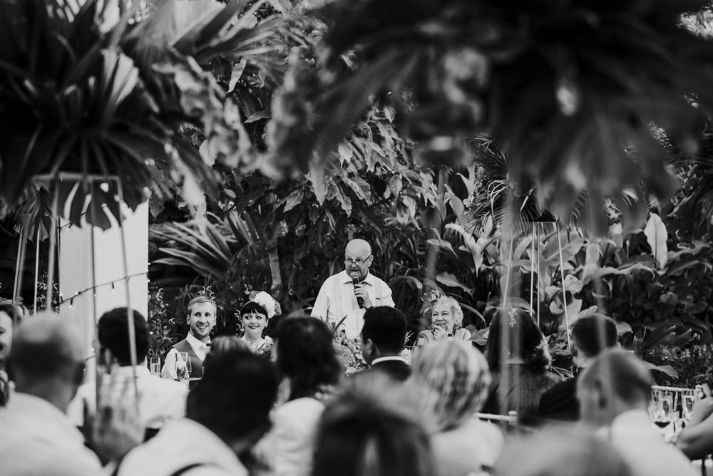 father of the bride wedding speech, glass house