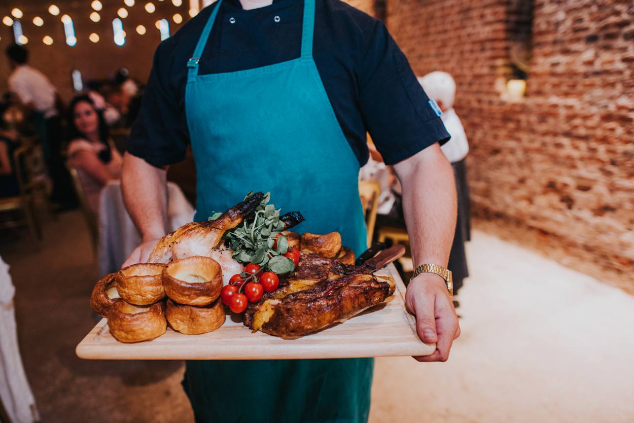 fathog and big pan catering food platter