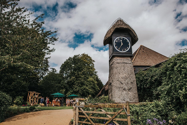 Clock barn clock tower