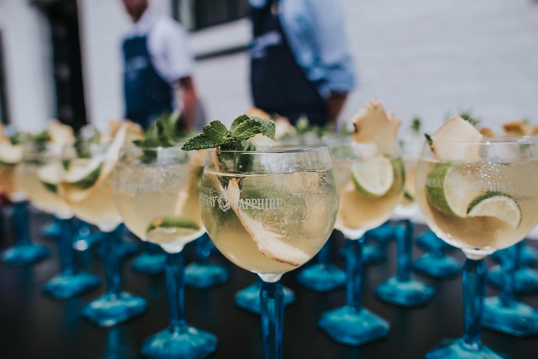 bombay sapphire distillery wedding laverstoke