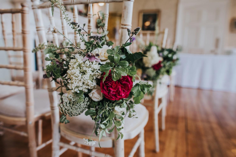 Beautiful peonies wedding bouquet