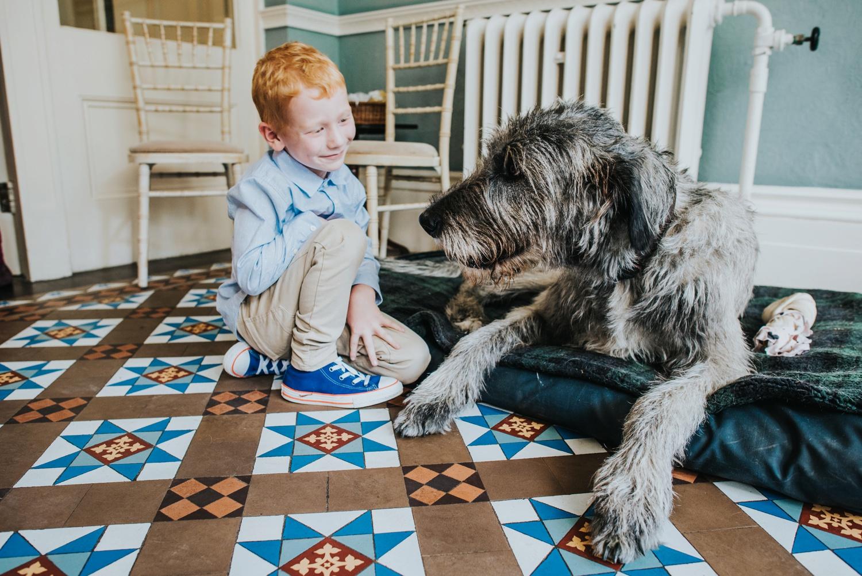 Duke the dog Penton Park