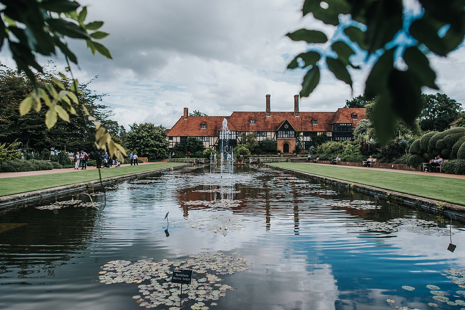 RHS Wisley Laboratory and Jellicoe Canal