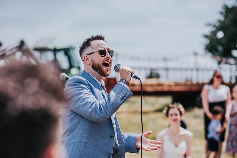 humanist wedding ceremony, huntstile organic farm