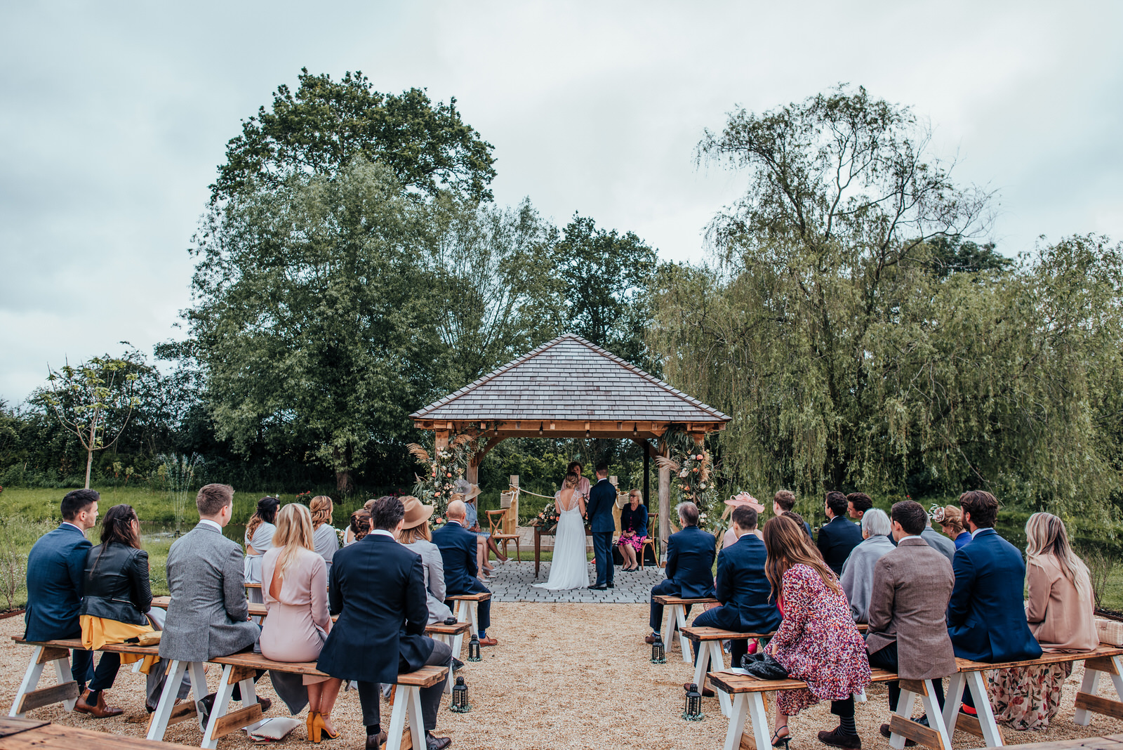 unplugged outdoor ceremony, silchester farm