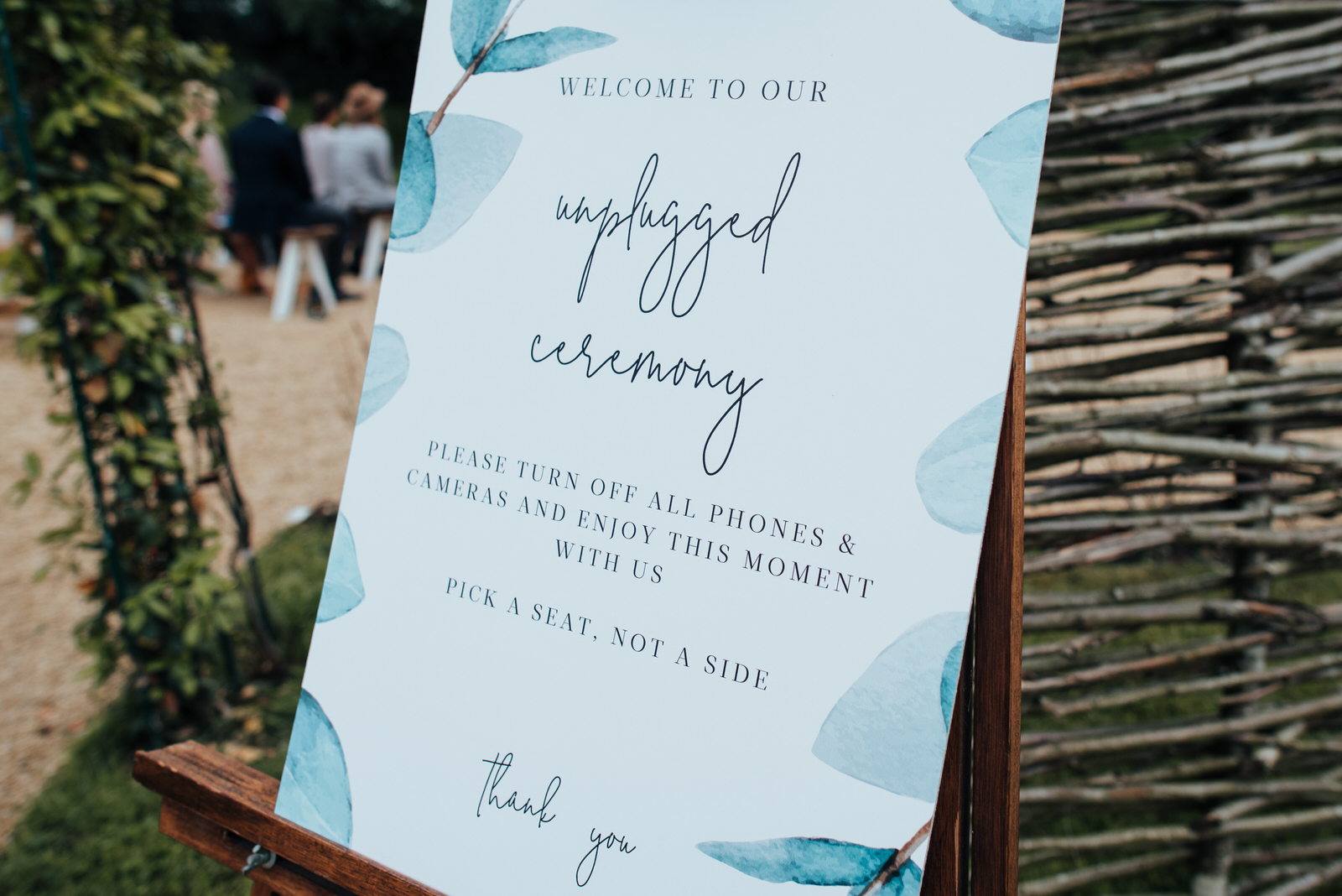 unplugged outdoor ceremony silchester farm